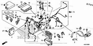 Honda Side By Side 2018 Oem Parts Diagram For Wire Harness