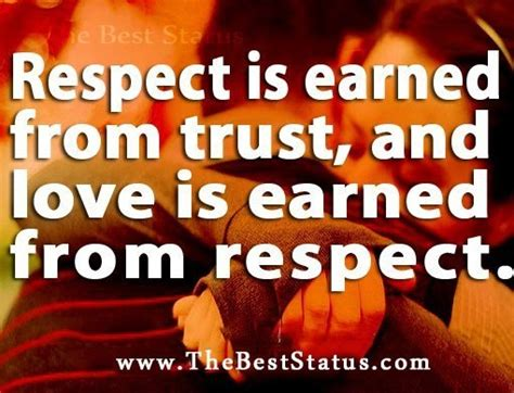 difference  someones love  respect
