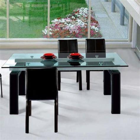 vitre pour table de cuisine table a manger vitree