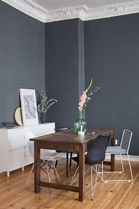 Schöner Wohnen Wandfarbe Grau : die besten 25 graue w nde ideen auf pinterest graue w nde wohnzimmer graues schlafzimmer und ~ Bigdaddyawards.com Haus und Dekorationen