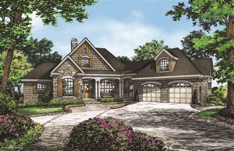 craftsman house plans with basement craftsman walkout offers family design