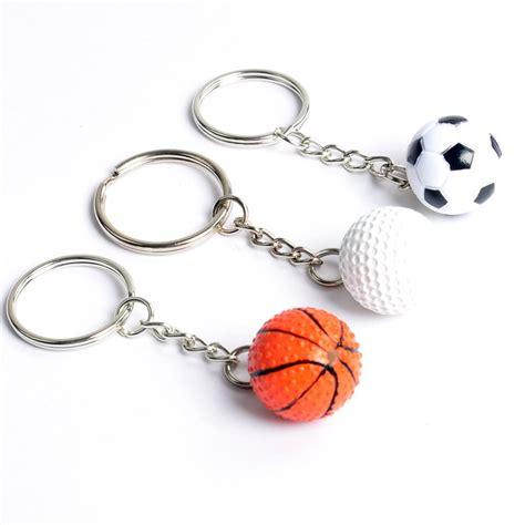 fashion sports metal keychain car key chain key ring