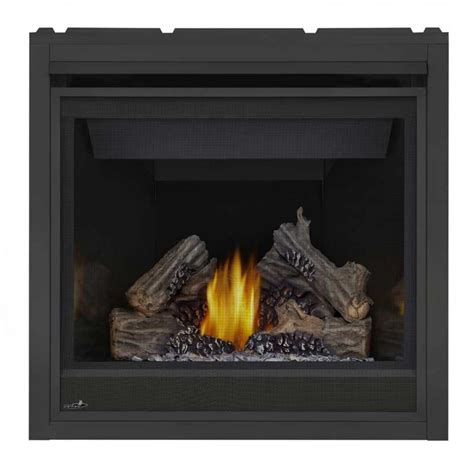 napoleon gas fireplaces napoleon ascent 36 direct vent gas fireplace