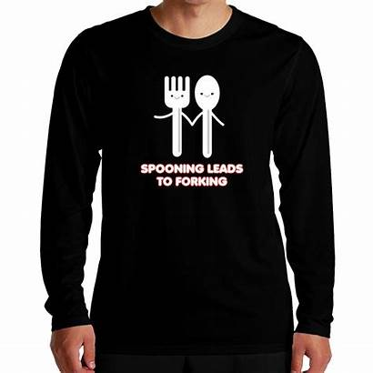 Forking Spooning Leads Shirt