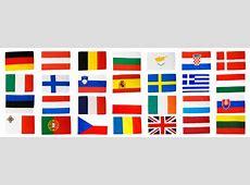 28 stati dell'Unione Europea EU set di bandiere 60 x 90