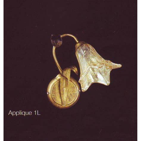 Applique Luce by Applique 1 Luce Ladario Classico In Ferro Battuto Made