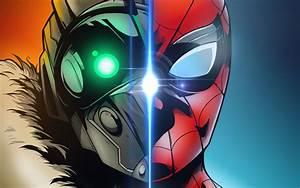 Spider Man Homecoming Art, Full HD 2K Wallpaper
