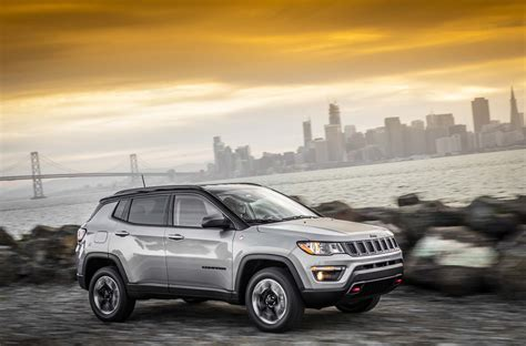 jeep compass 2017 grey 2017 jeep compass first look automobile magazine