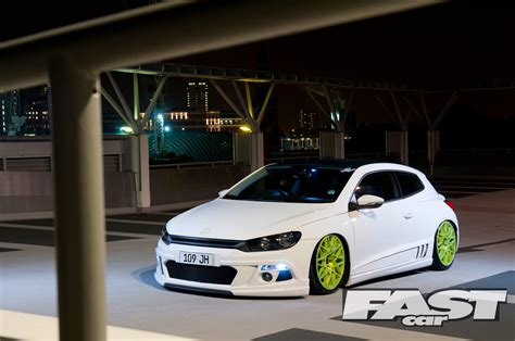 volkswagen fast car stanced vw scirocco fast car