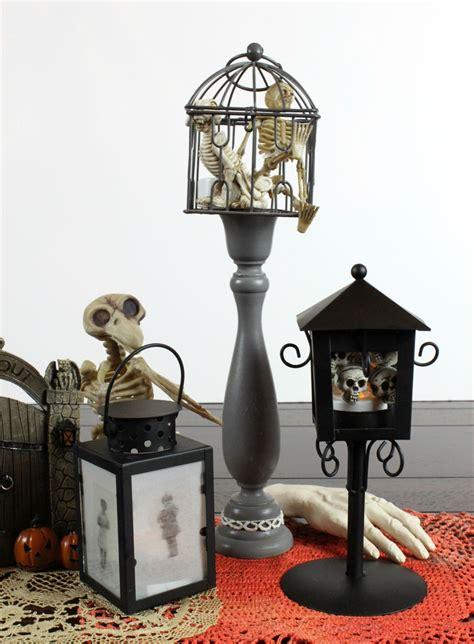 diy spooky halloween lanterns