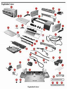 Hp Deskjet 9600 Series Printer Service Manual