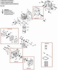 Shindaiwa C350 Brushcutter Illustrated Parts Diagram
