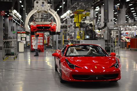 ferrari factory ferrari awards highest ever employee bonus amid strong
