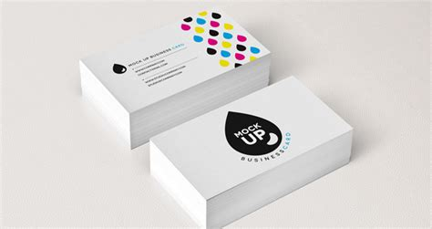 Psd Business Card Mock-up Vol8