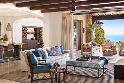 Mediterranean Style : A Beachfront Mediterranean Style Villa In Cabo