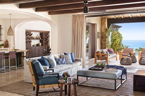 Decordemon A Beachfront Mediterranean Style Villa In Cabo