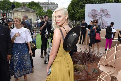 Karlie Kloss Photos Christian Dior Front Row