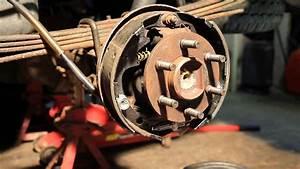 Drum Brake Removal 2002 Dodge Dakota 4x4 How To