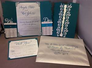 share your silhouette cameo crafts here With wedding invitations using silhouette cameo