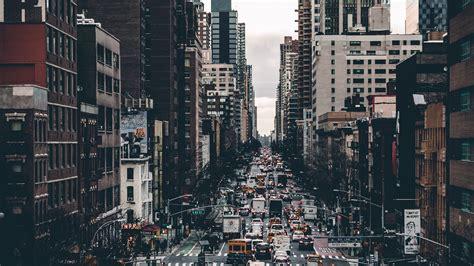 wallpaper  city street transport