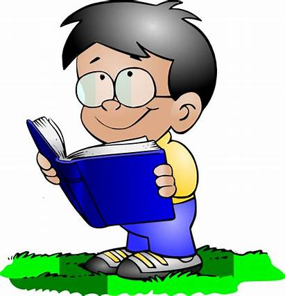 Reading Boy Clip Clipart Students Student Cliparts