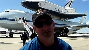 SPACE SHUTTLE ENTERPRISE LANDING AT JFK AIRPORT - YouTube
