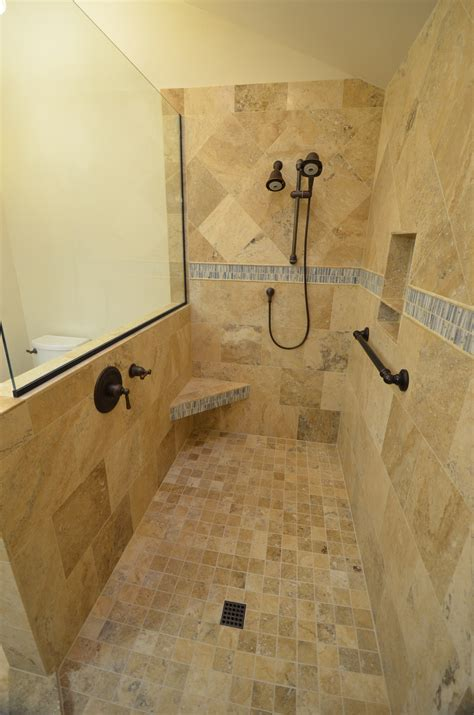 walk in bathroom shower ideas images about doorless showers walk in shower also designs