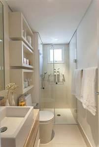 Aménager Une Salle De Bain : idee salle de bain 4m2 3 amenager une petite salle de ~ Dailycaller-alerts.com Idées de Décoration