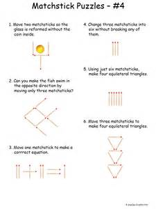 difficult matchstick puzzles