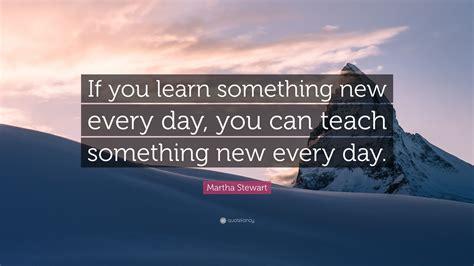 Martha Stewart Quote: