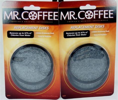 You can get the best discount of up to 97% off. Mr. Coffee WFF Water Filter Replacement Disc Universal 2/Pack - Walmart.com - Walmart.com
