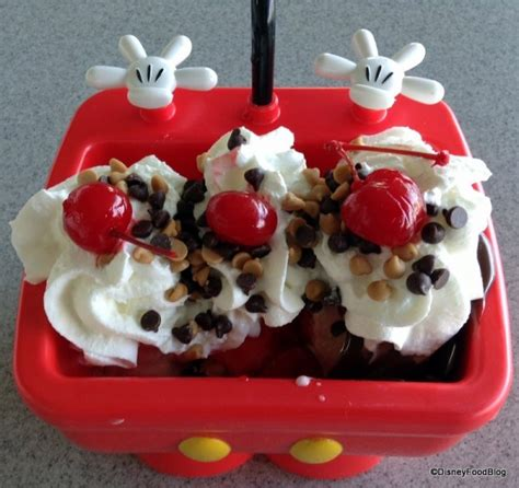 disney kitchen sink mickey s kitchen sink sundae in two disney world locations 3369