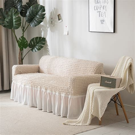 slipcovers for settees jacquard sofa covers slipcover soft stretch elastic