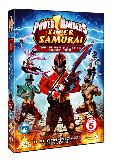 Power Rangers Super Samurai: The Super Powered Black Box ...