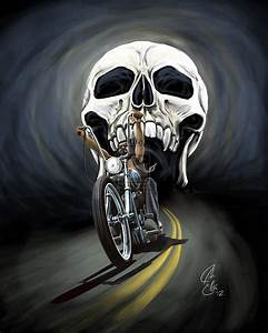 Image Gallery outlaw biker artwork
