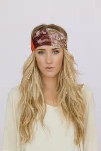 Wide Bohemian Headband
