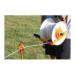 geared maxireal for portable fencing gallagher wire winding electric fencing farm