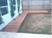 ground level deck plans Ground Level Wood Deck Plans - ARCH.DSGN