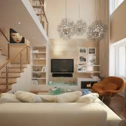 simple small living room ideas for lighting and colors