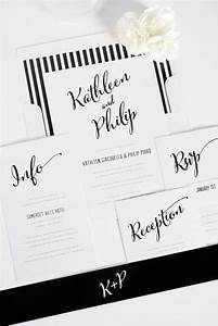 47 awesome ideas for a black and white wedding wedding With wedding invitation calligraphy philippines