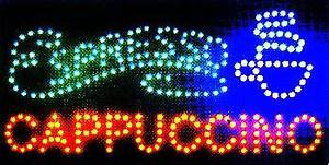 LED Neon Light Open Sign With Animation off and Power