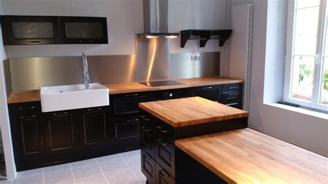superbe meuble de cuisine blanc laque 11 cuisine type bistro wasuk