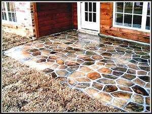 diy concrete patio ideas floor outside flooring easy With easy diy patio floor ideas