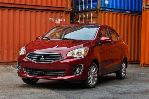 mitsubishi mirage 2017 mitsubishi mirage performance review the car connection