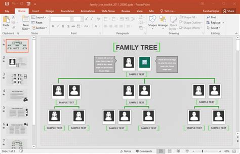 excel family tree template family tree template  excel