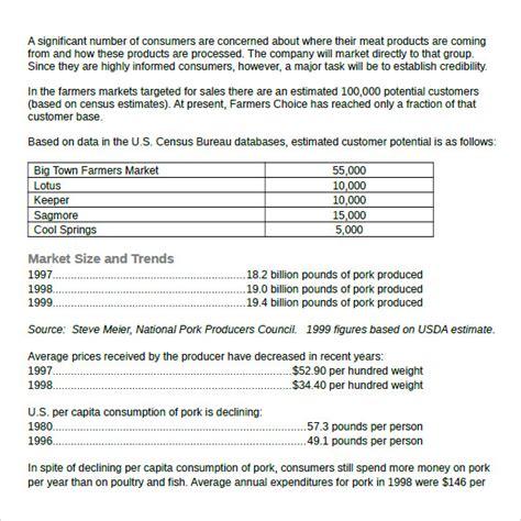 real estate market analysis template   samples