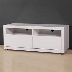 Meuble Tv 90 Cm : meuble tv 90 cm meuble tv design gris maisonjoffrois ~ Teatrodelosmanantiales.com Idées de Décoration