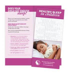 Sleep Education Brochures