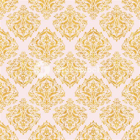 light pink and gold light pink and gold glitter decorative pattern royalty