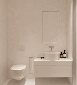 Meuble Salle De Bain Gain De Place : salle de bain d co minimaliste quelles sont les ~ Dailycaller-alerts.com Idées de Décoration